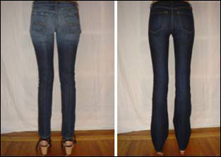 See the difference between other jeans and hello! skinnyjeans