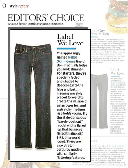 hello! SkinnyJeans - Editor's Choice